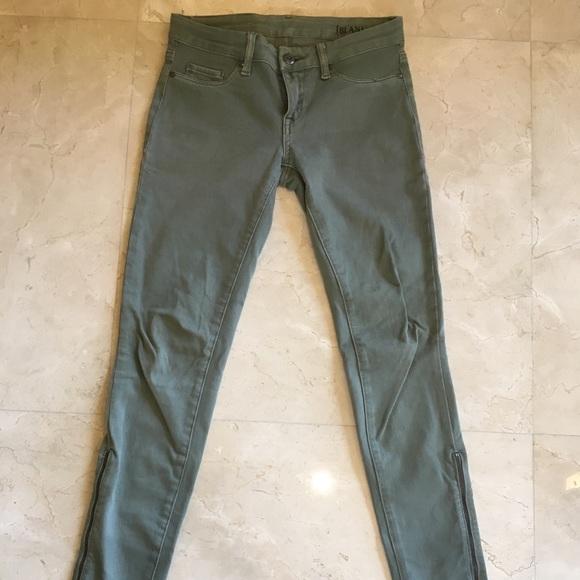 2a0db5f00d1ffe Blank NYC Jeans | Us 26 Army Green Zipper | Poshmark